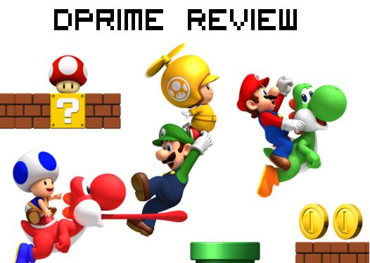 Dprime Review New Super Mario Bros Wii Oculin S Box