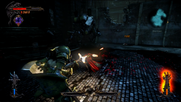 Castlevania Lords of Shadow 2 Military Fight