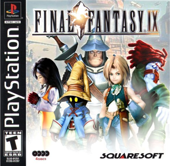 Final Fantasy IX [Disc1of4] [U] [SLUS-01251]-front
