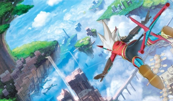 Rodea the Sky Soldier BOx Art Cut