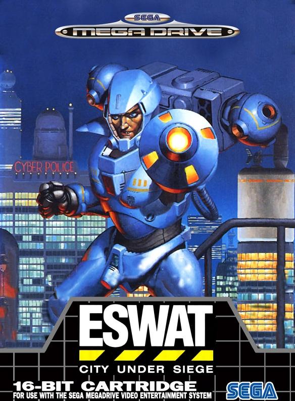 E-SWAT - City Under Siege Box