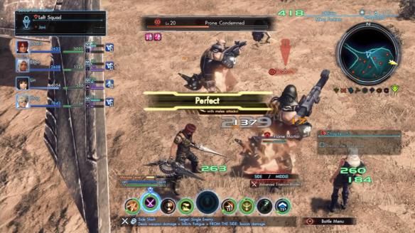 Xenoblade Chronicles X Combat