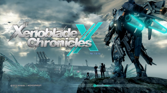 Xenoblade Chronicles X title screen